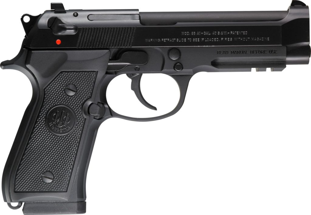 "<!DOCTYPE html> <html> <body> <p style=""font-family:arial;""> <p align=""left""> Action: Semi-automatic <br /> Caliber:  .40 Smith & Wesson <br /> Finish/Color:  Bruniton Finish <br /> Barrel length: 4.9 Inch Barrel<br /> Rounds: 10 Rounds </br/> Picatinny Rail</br/> Comes With Three Magazines<br /> Plastic Grips <h1 style=""color:green"">$695.00+UP</h1> </p></body></html>"