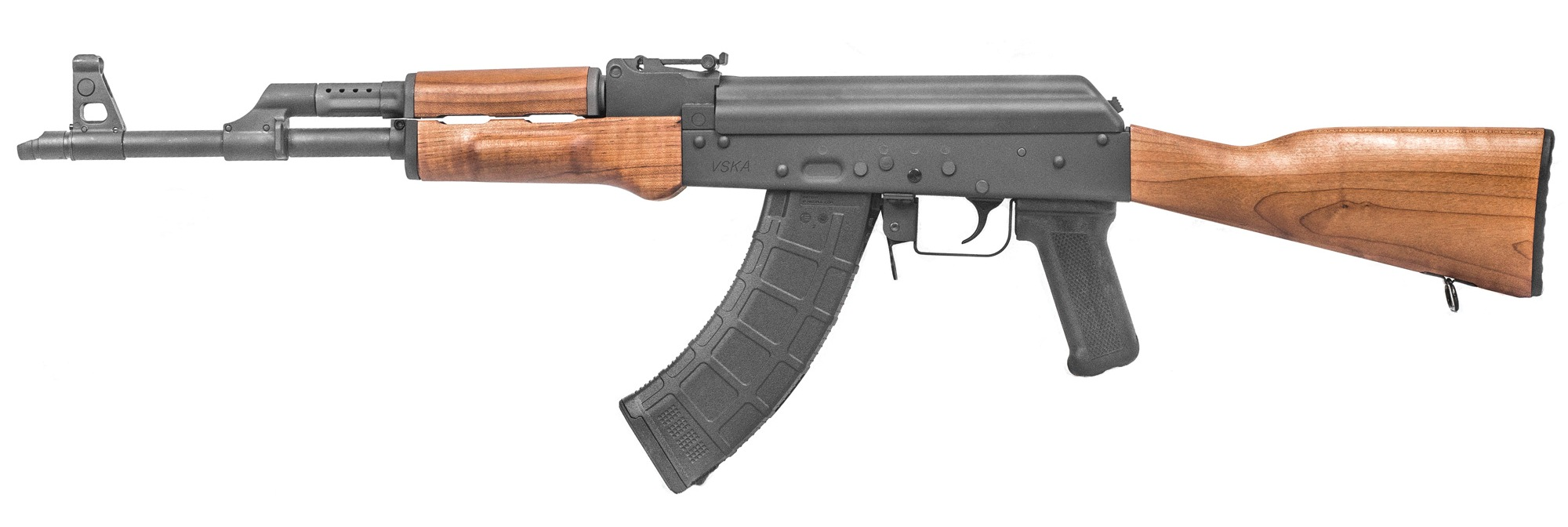 "Century Arms, VSKA, Semi-automatic Rifle, 7.62X39, 16.25"" Chrome Moly Barrel, Matte Blued Finish, Wood Stock, 1 Magazine, 30Rd, American Made $699-749"
