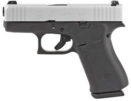 "<BODY><P STYLE=""FONT-FAMILY:ARIAL;""><P ALIGN=""LEFT""> Glock<br> Model:43x Ameriglo<br> Action: Semi-automatic<br> Caliber: 9MM<br> Barrel Length: 3.41""<br> Frame/Material: Polymer<br> Finish/Color: Silver<br> Sights: Ameriglo<br> Capacity: 10Rd<br> <br> Safety: Trigger<br> <H1 STYLE=""COLOR:GREEN"">$579.95</H1></P></BODY></HTML>"